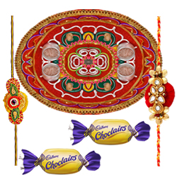 Enthralling Celebration Special Rakhi Gift