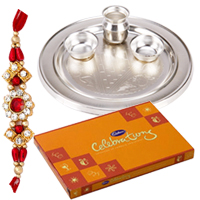 Fantastic Rakhi Gift with Best Wishes