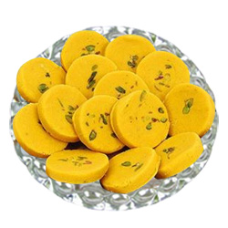 Send Kesaria Pedas  from Haldiram to Kerala