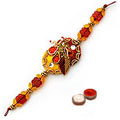 Attractive Rakhi with Appealing Grace