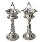 Send Silver Lamp Set (Big Size) to Kerala